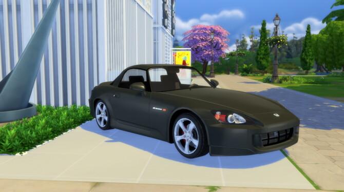 Sims 4 2007 Honda S2000 at Modern Crafter CC