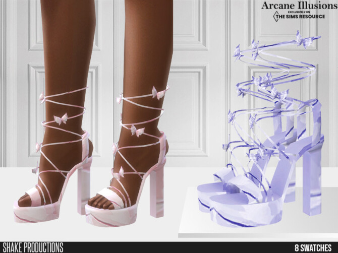 Sims 4 Arcane Illusions High Heels 2 by ShakeProductions at TSR