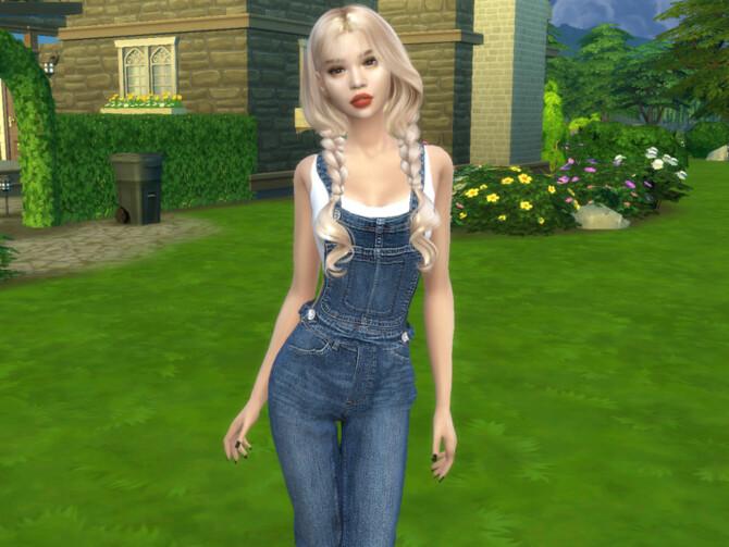 Sims 4 Masumi Ikeda by divaka45 at TSR