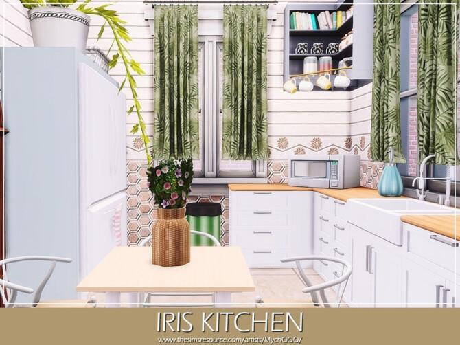 Sims 4 Iris Kitchen by MychQQQ at TSR