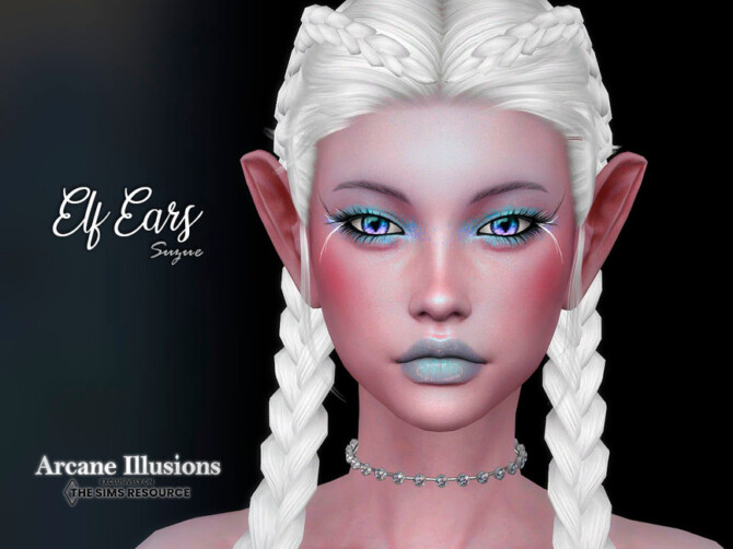 Sims 4 Arcane Illusions Elf Ears Set by Suzue at TSR