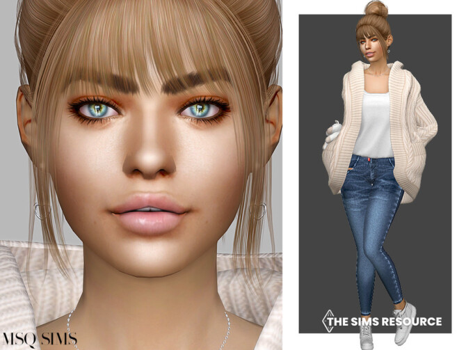 Sims 4 Mary Dowling by MSQSIMS at TSR