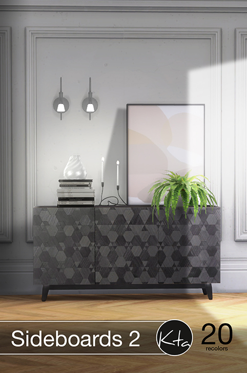 Sims 4 Sideboards 2 at Ktasims