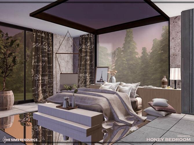 Sims 4 Honey Bedroom by Moniamay72 at TSR
