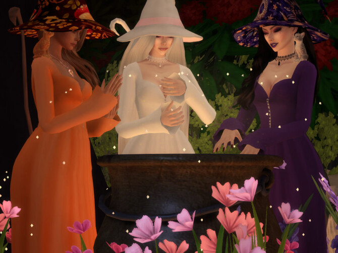 Sims 4 Arcane Illusions   Witch Hat by Dissia at TSR