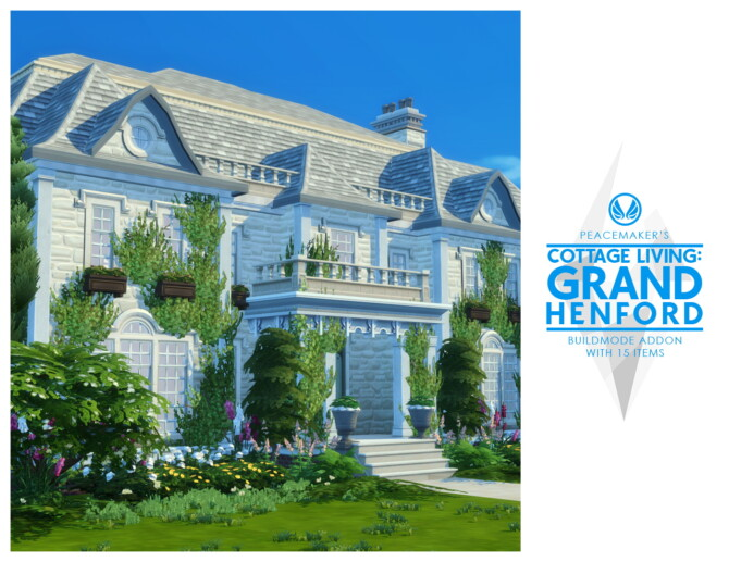 Sims 4 Cottage Living: Grand Henford Addon at Simsational Designs