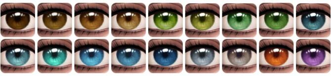 Sims 4 Felicity Eyes at Aveira Sims 4