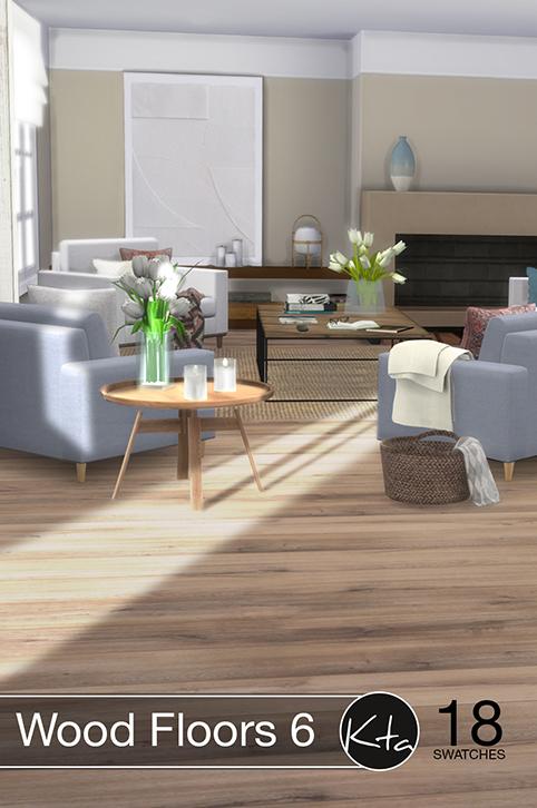 Sims 4 Wood Floors 6 at Ktasims