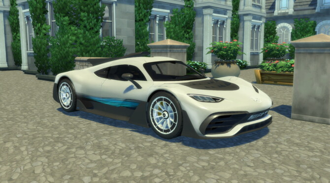 Sims 4 2017 Mercedes AMG Project ONE at LorySims