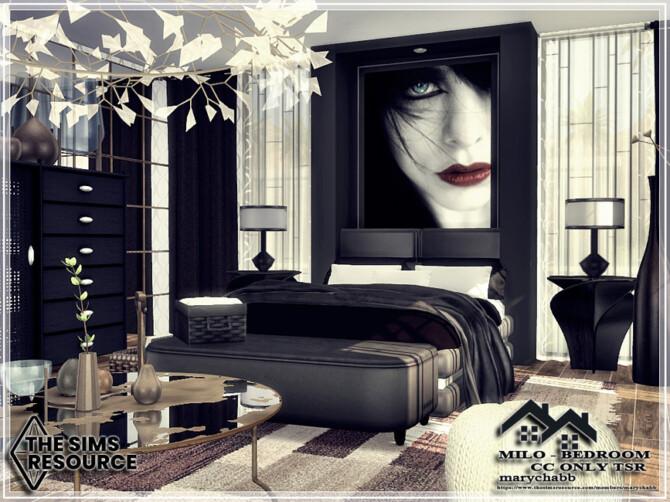 Sims 4 MILO Bedroom by marychabb at TSR