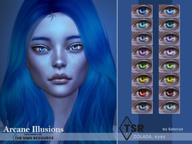 Sims 4 Arcane Illusions   Zolada Eyes by soloriya at TSR