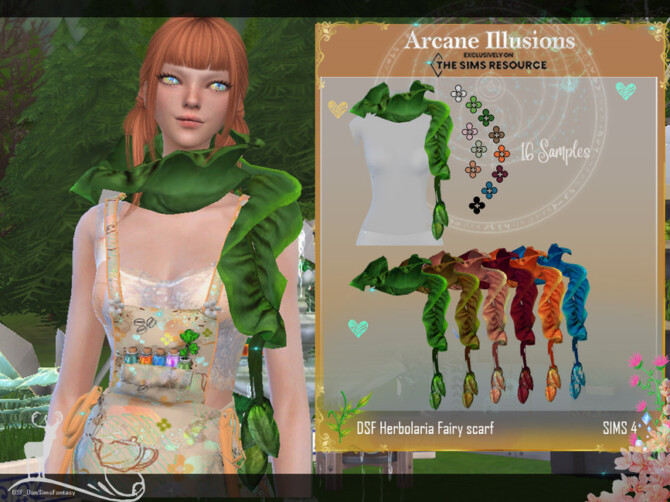 Sims 4 Arcane Illusions    Accessories Herbolaria Fairy by DanSimsFantasy at TSR