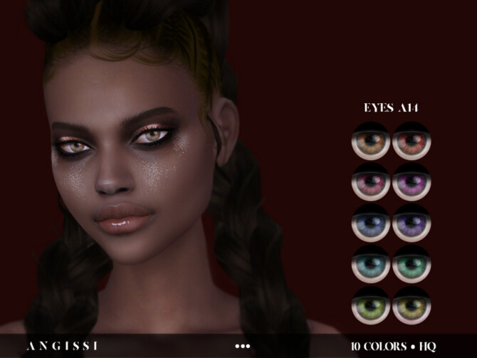 Sims 4 EYES A14 by ANGISSI at TSR