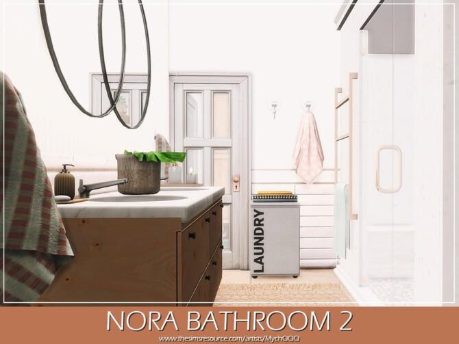 Sims 4 Nora Bathroom 2 by MychQQQ at TSR