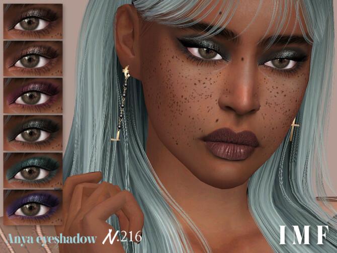 Sims 4 Anya Eyeshadow N.216 by IzzieMcFire at TSR