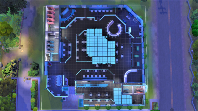 Sims 4 Club Sapphire by SweetSimmerHomes at Mod The Sims 4