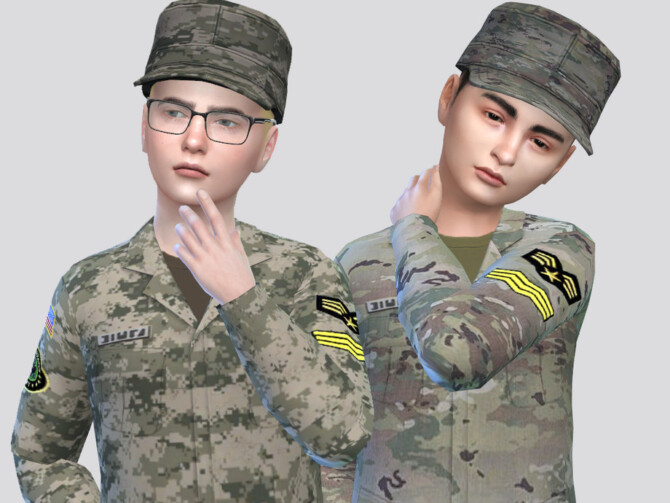 Sims 4 Force Cap Kids by McLayneSims at TSR
