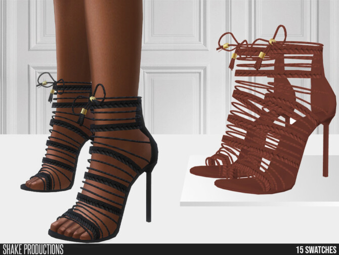 Sims 4 756   High Heels by  ShakeProductions at TSR
