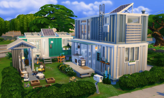 Sims 4 Conteneurs Champêtres at Simsontherope