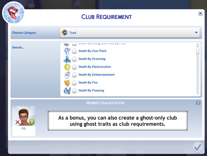 Sims 4 Haters Club by FDSims4Mods at TSR