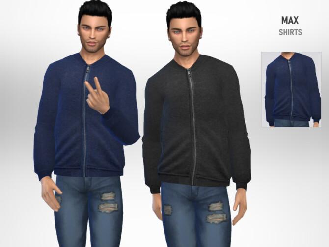 Sims 4 Max Shirt by Puresim at TSR