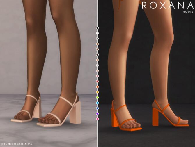 Sims 4 ROXANA heels by Plumbobs n Fries at TSR