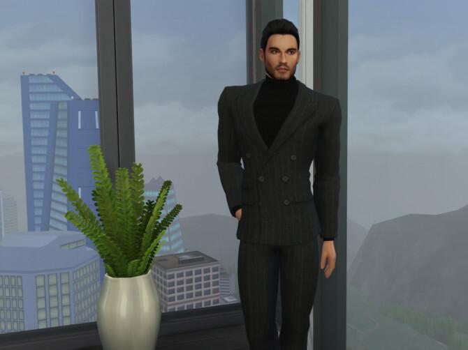 Sims 4 Tom Ellis Inspired Sim Model by DarkWave14 at TSR