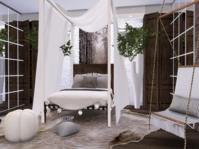 Sims 4 Anna Bedroom by Suzz86 at TSR