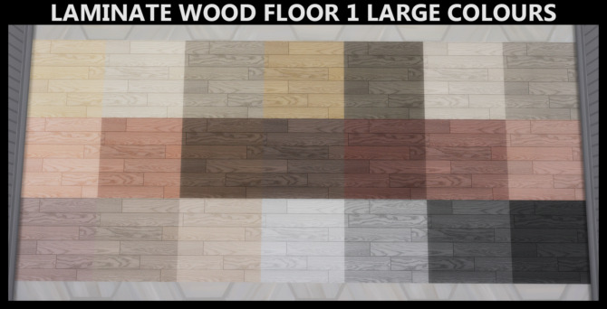 Sims 4 Laminate Wood Floors by Simmiller at Mod The Sims 4