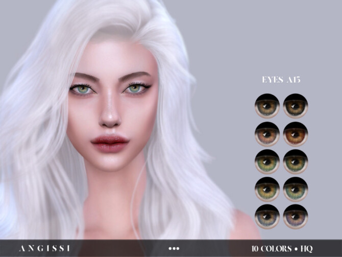 Sims 4 EYES A15 by ANGISSI at TSR