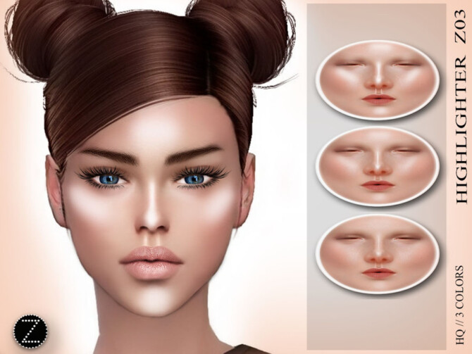 Sims 4 HIGHLIGHTER Z03 by ZENX at TSR
