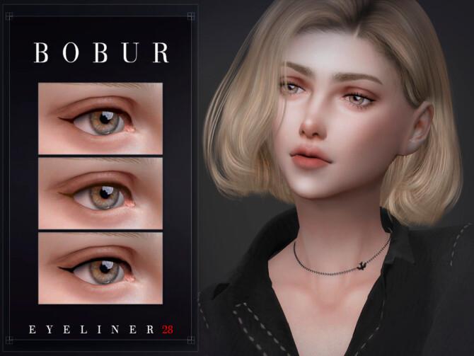 Sims 4 Eyeliner 28 by Bobur3 at TSR