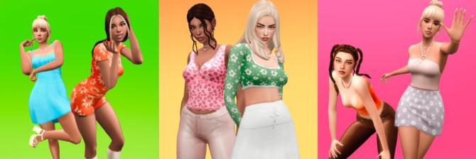 Sims 4 SERENITYxARETHA IDORU COLLECTION at SERENITY