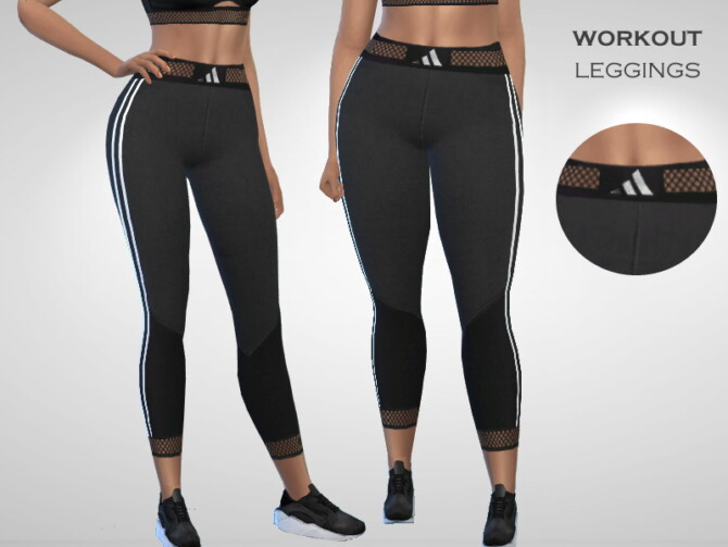 Sims 4 Workout Leggings by Puresim at TSR