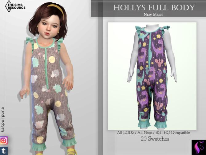 Sims 4 Hollys Full Body by KaTPurpura at TSR