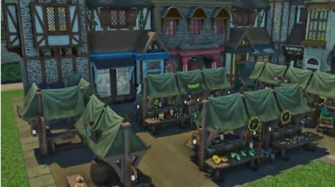 Sims 4 Henford Market at MikkiMur