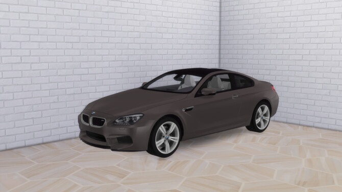 Sims 4 2013 BMW M6 at Modern Crafter CC