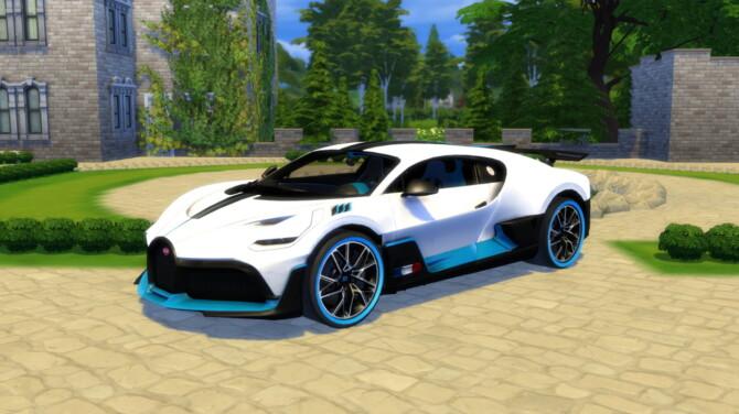 Sims 4 2019 Bugatti Divo at LorySims